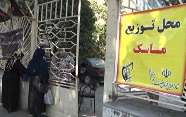 توزیع ماسک ارزان در گلستان