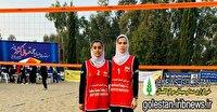 درخشش بانوان گلستانی در رقابتهای والیبال ساحلی کشور
