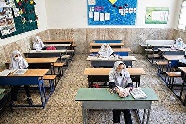 بازگشایی مدارس بیشتر از ۳۰۰ نفر از نیمه دوم آبان